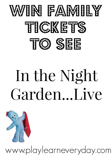 Win Tickets to In the Night Garden Live
