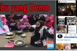 Tercyduk Netizen! Emak-emak Yang Demo Harga Telor Ternyata Orang Kaya Raya, Akun Medsosnya Diserbu Warganet!