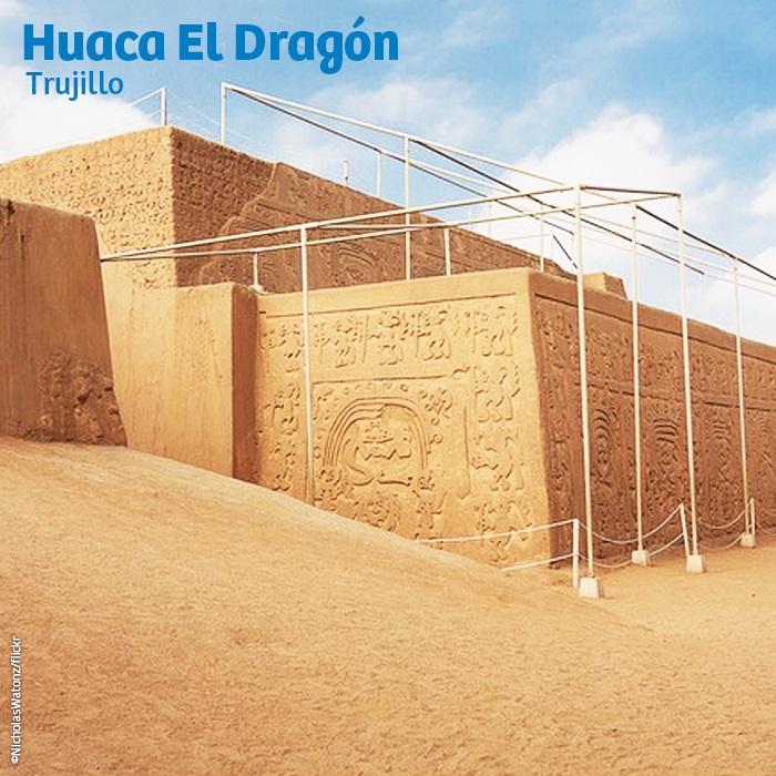 Huaca El Dragón o Arco Iris