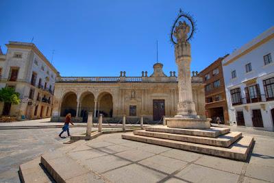 plaza, asunción, jerez, provincia, cádiz, cadiz, turismo, españa, andalucía