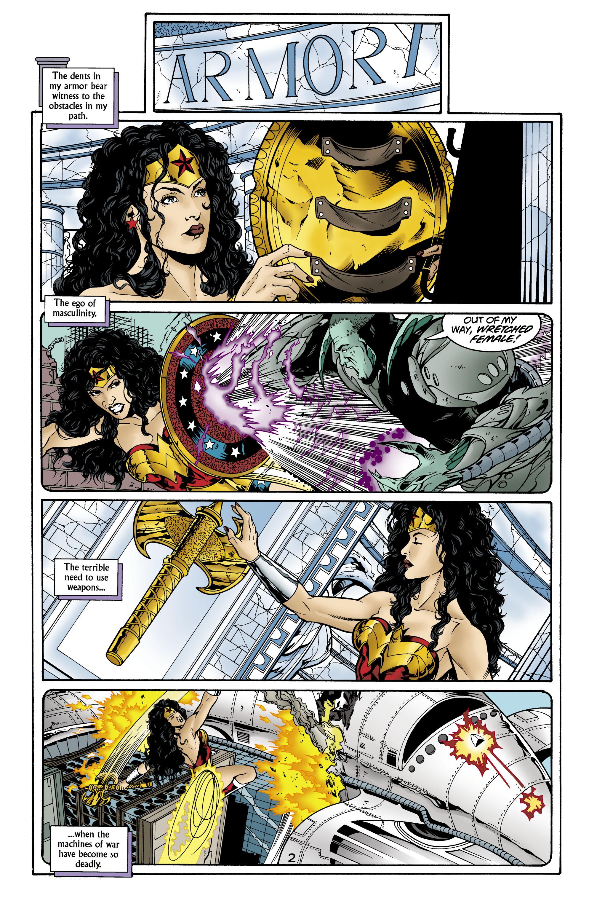 Read online Wonder Woman (1987) comic -  Issue #156 - 3