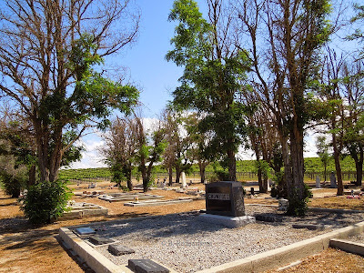 Pleasant Valley Cemetery. Paso Robles, CA, © B. Radisavljevic