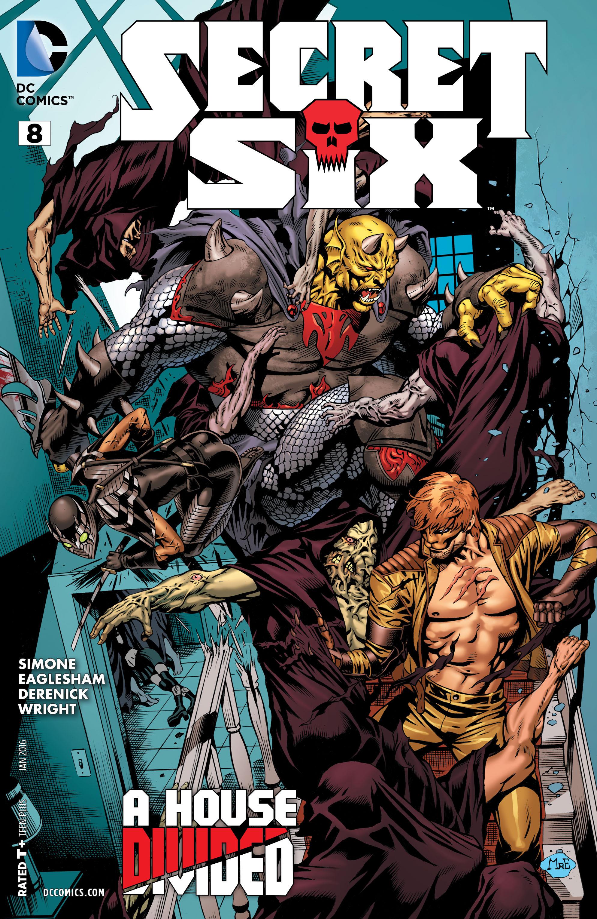 Read online Secret Six (2015) comic -  Issue #8 - 1