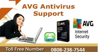 AVG Help Number UK