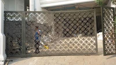 pagar untuk rumah mewah klasik