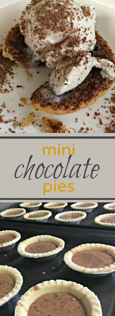 Mini Chocolate Pies a famous family recipe that will bring a smile to any chocolate-lovers face