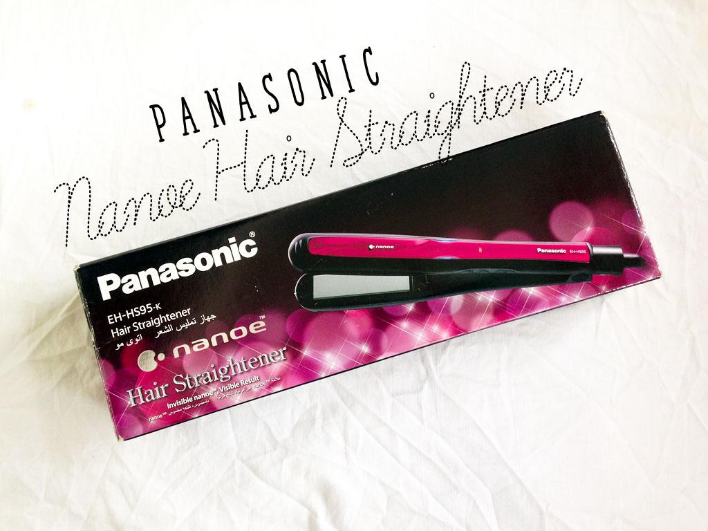 Flat-iron that's Damaged-hair Friendly: Panasonic Nanoe Hair Straightener