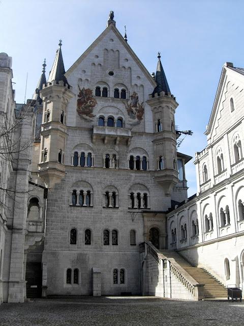 un cuento el castillo de Neuschwanstein