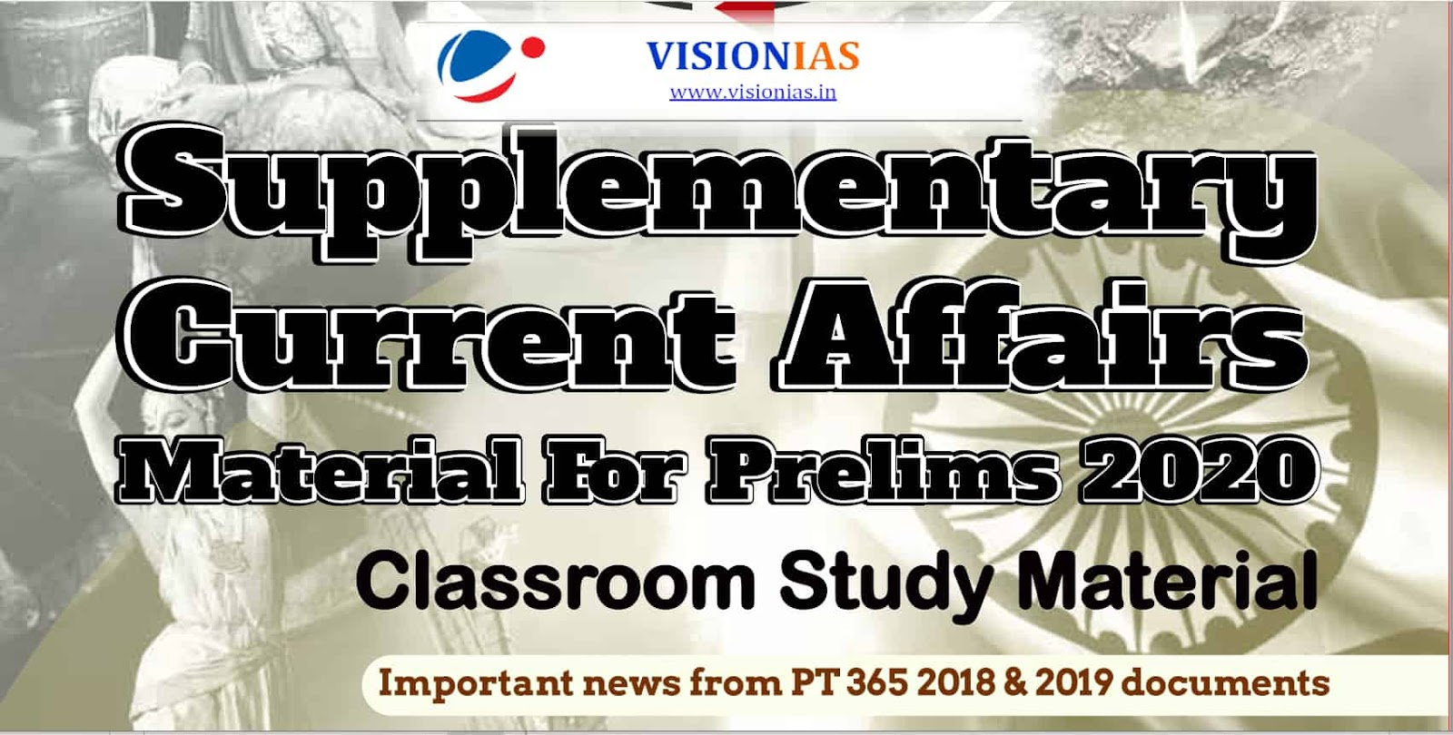 Vision IAS Supplementary Current Affairs 2020