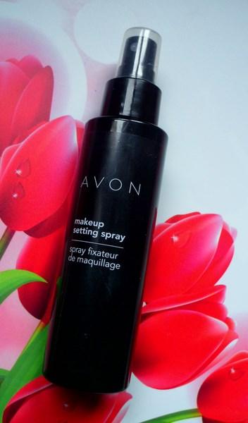 AVON make up setting spray - utrwalający spray do makijażu