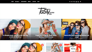 ChicMag Carousel Blogger Template
