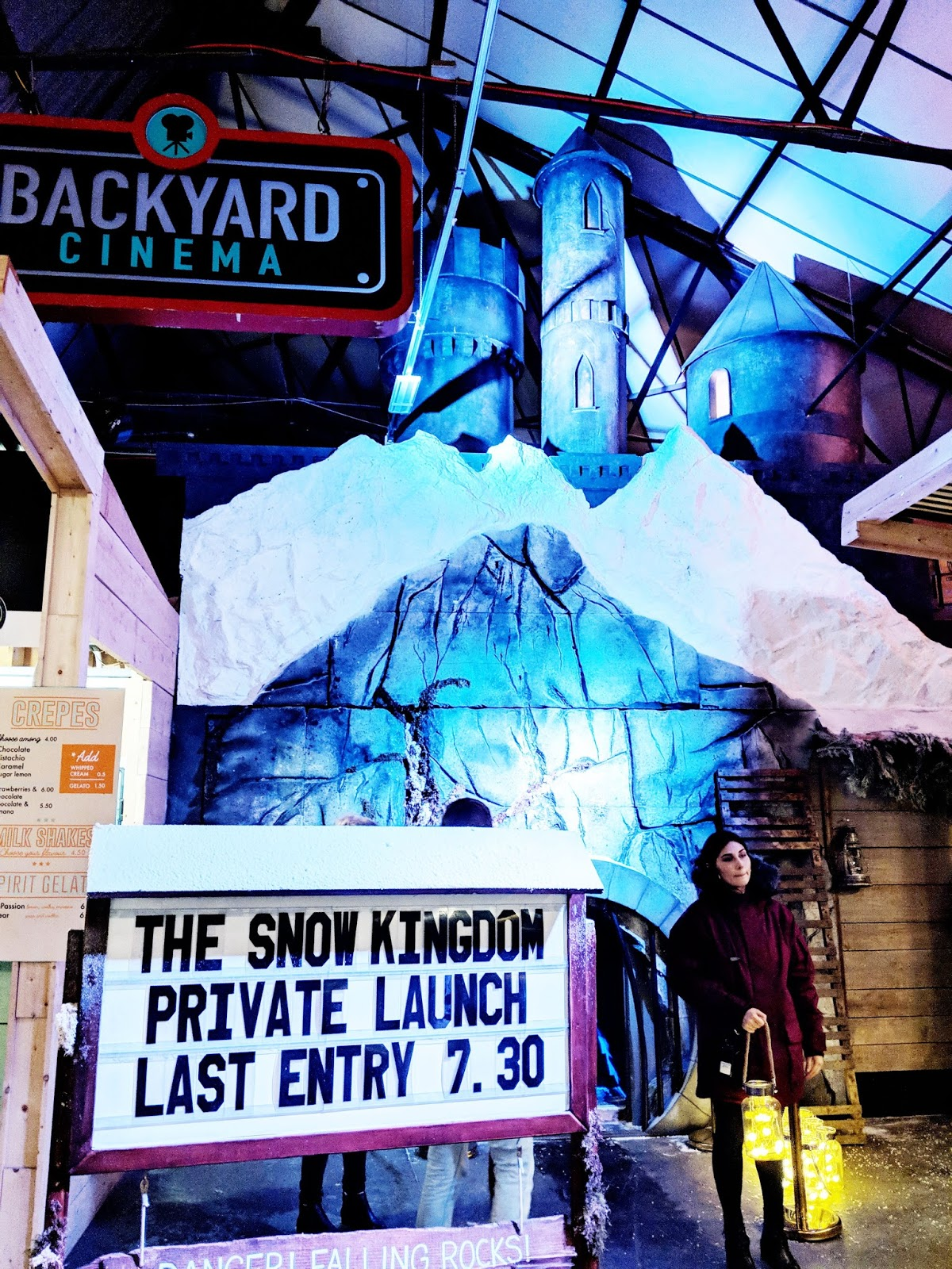 Backyard Cinema Snow Kingdom, London Review