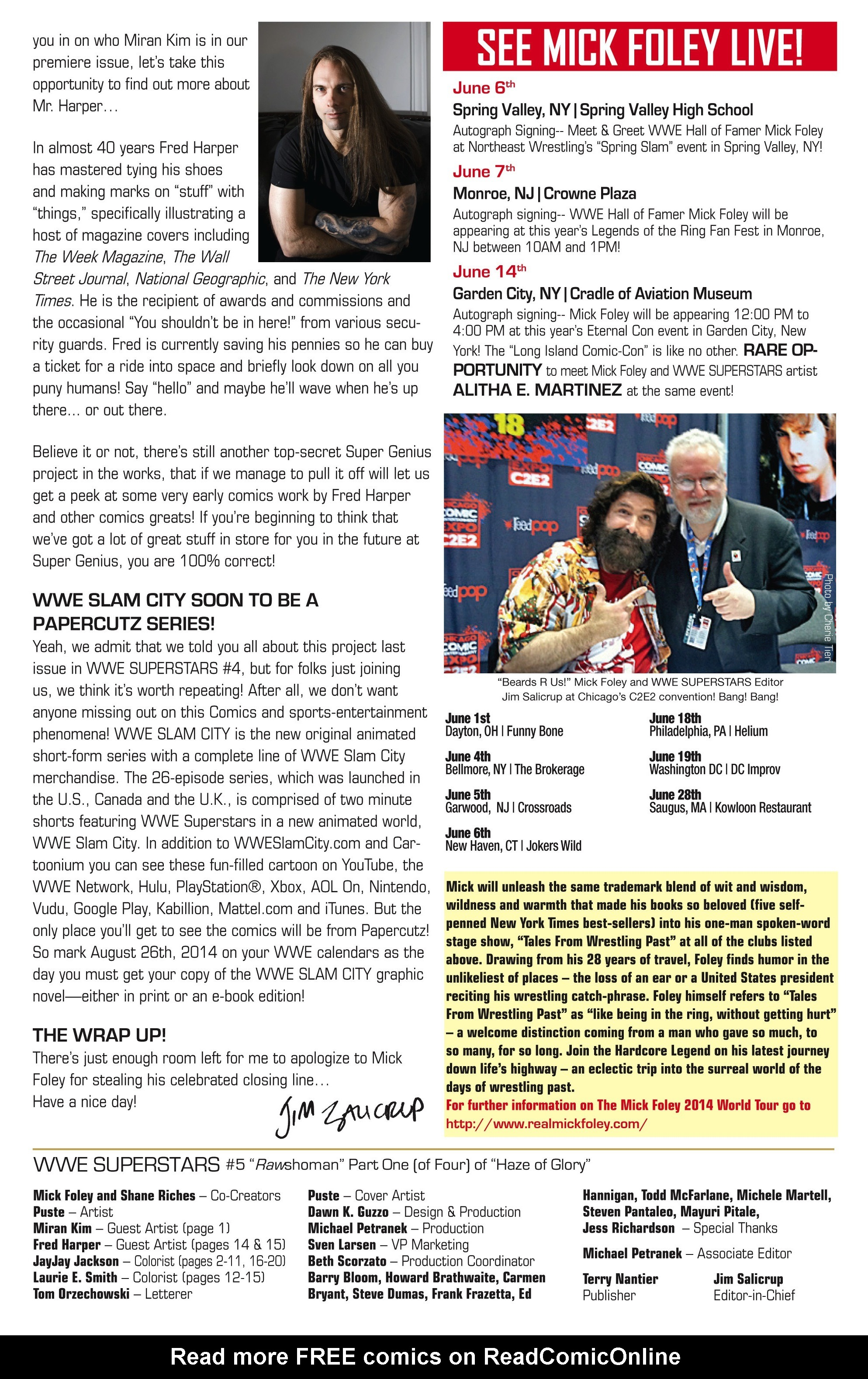 Read online WWE Superstars comic -  Issue #5 - 27
