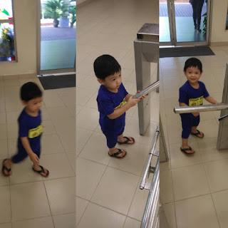 Kali Pertama Bawa Anak-Anak Ke Perpustakaan awam