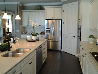 Islandwalk Summerwood model home kitchen