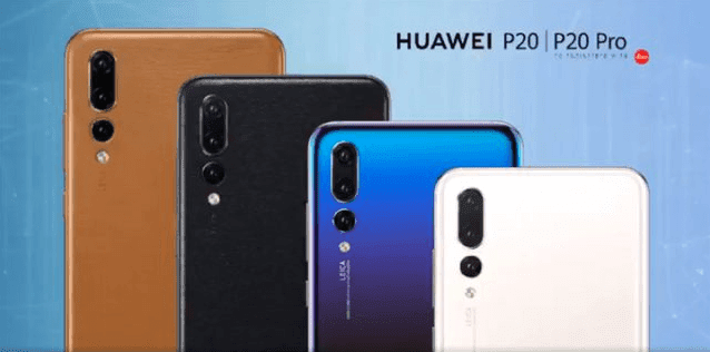 Huawei new four color for P20 Pro