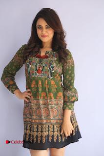 Actress Shruti Sodhi Pictures at Meelo Evaru Koteeswarudu Trailer Launch  0030.JPG