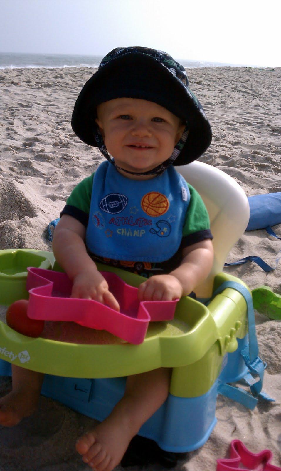 Baby Boy Beach Themed Diaper Cake