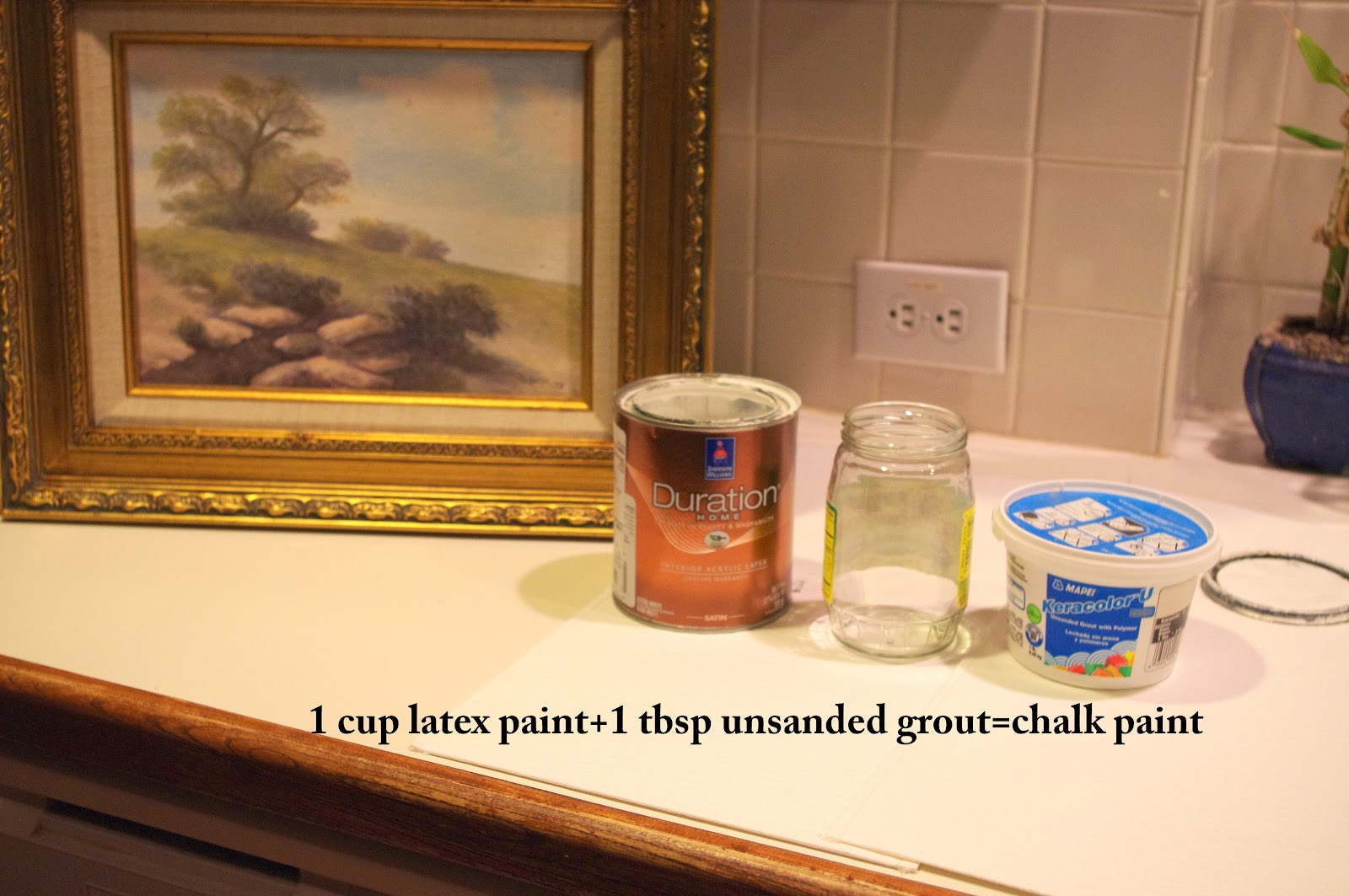 Chalk Paint Method For Kitchen Cabinets