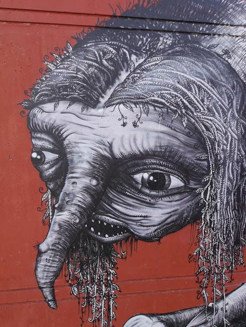 British Street Artist Phlegm Paints A New Urban Mural In Northern Norway. 3