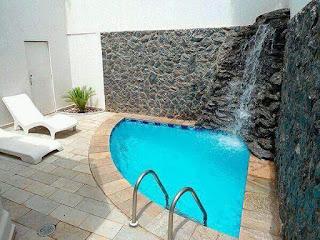 kolam renang batu alam minimalis