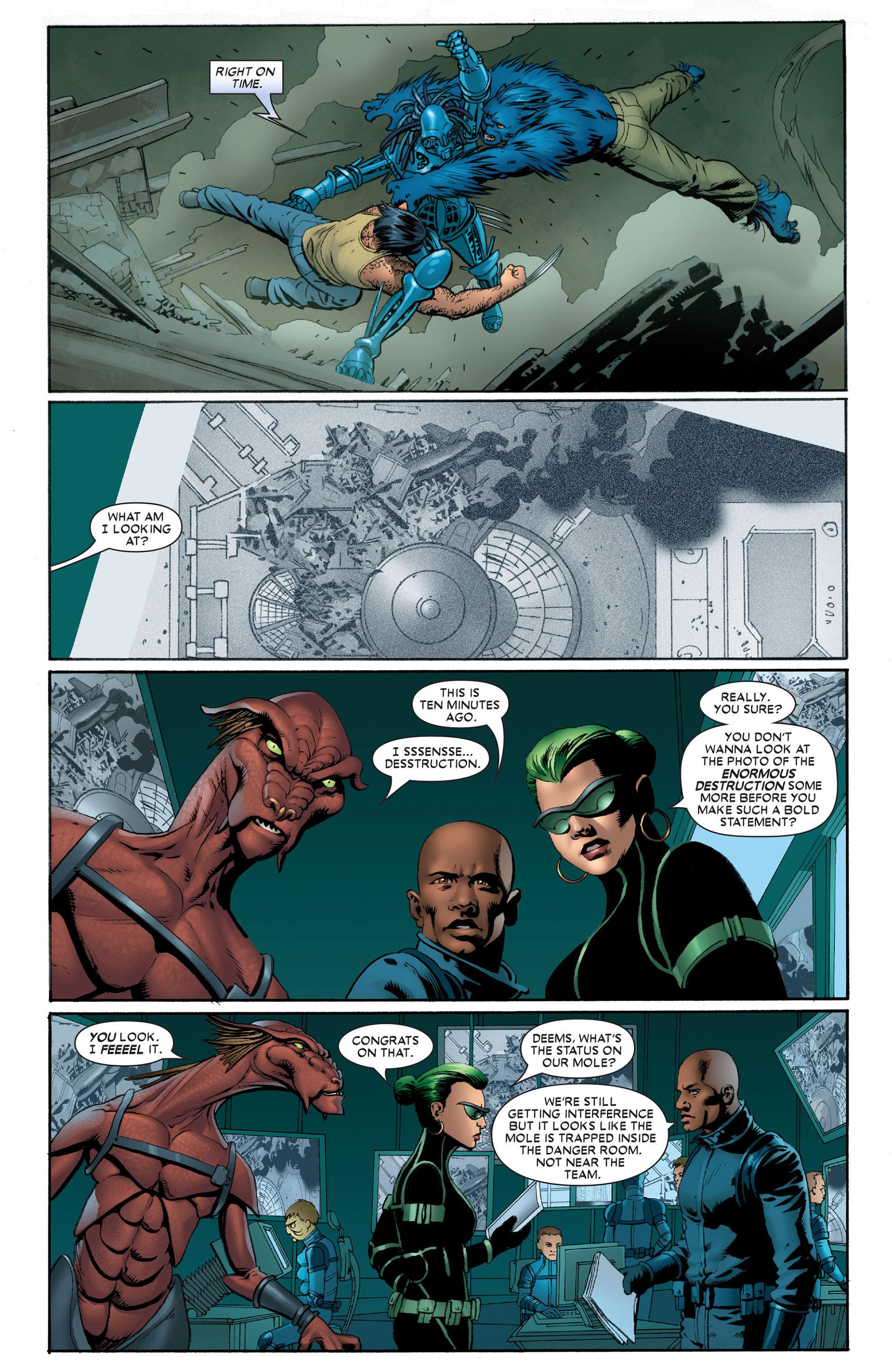 Read online Astonishing X-Men (2004) comic -  Issue #10 - 15