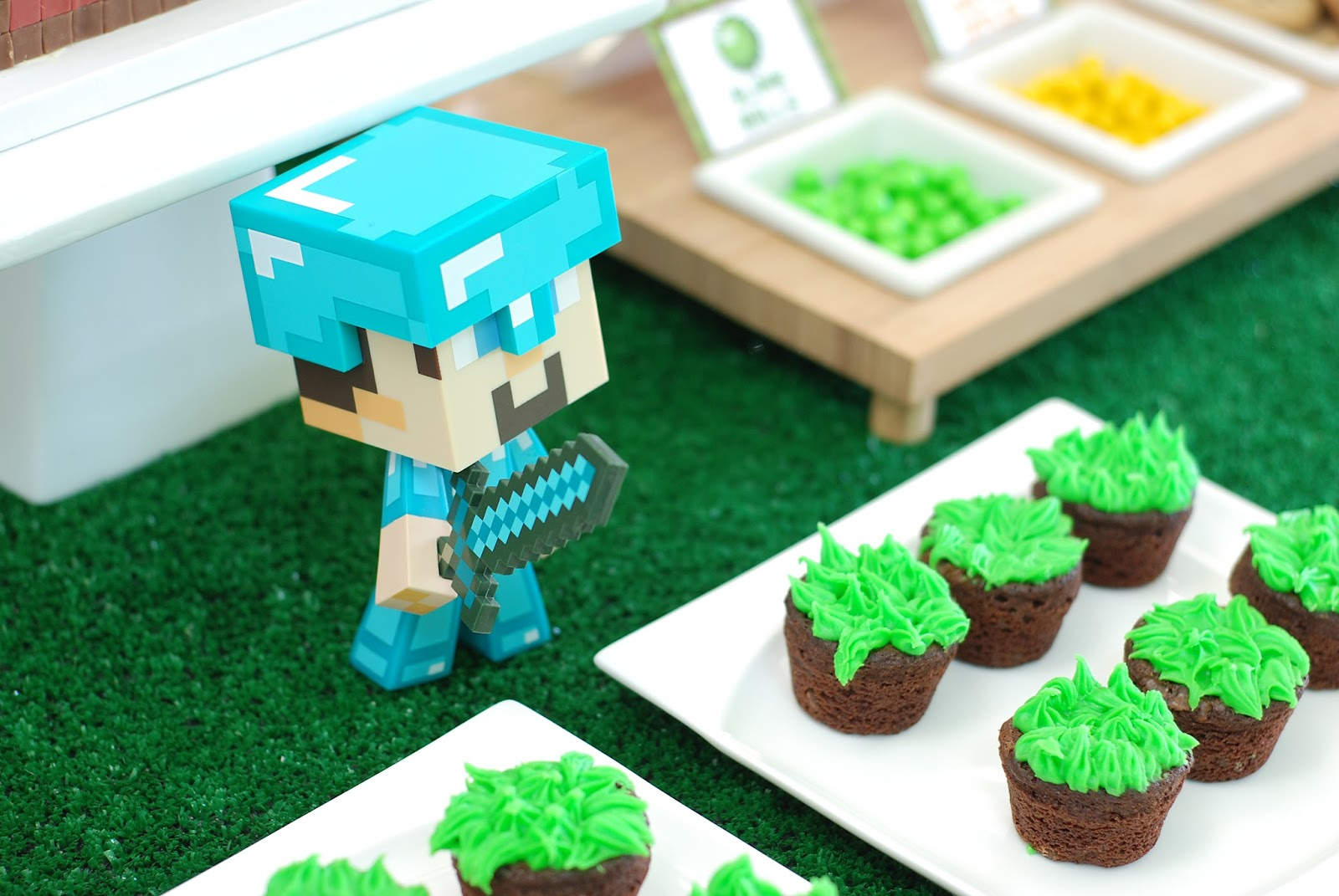Pure Joy Events Minecraft Birthday Party