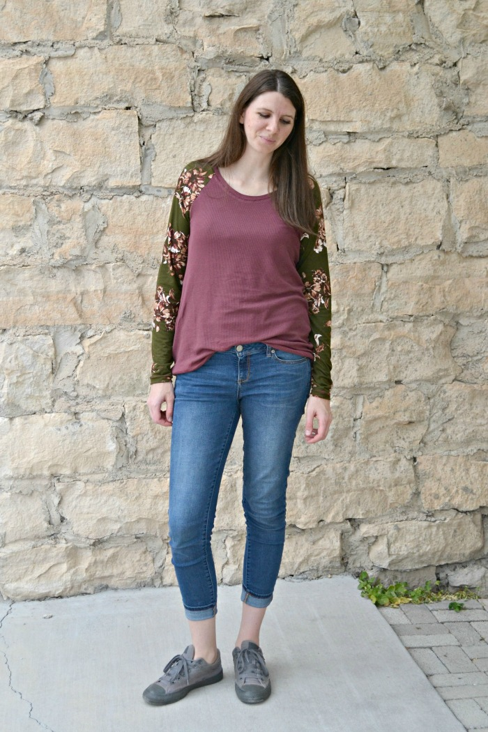 Rivage Raglan sewing pattern by Blank Slate Patterns sewn by Paisley Roots