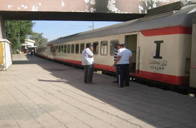 قطار القاهرة اسوان