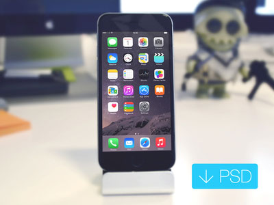 iPhone 6 Mockup Free PSD