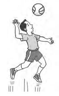 Latihan jumping service