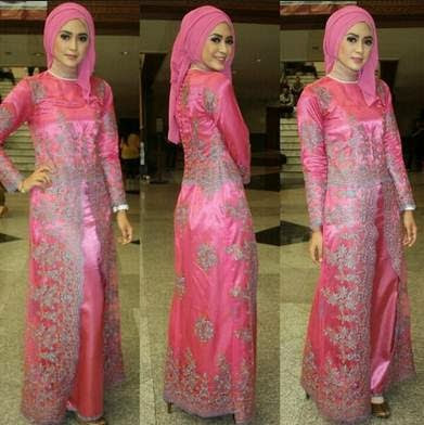 Contoh Kebaya Long Dress