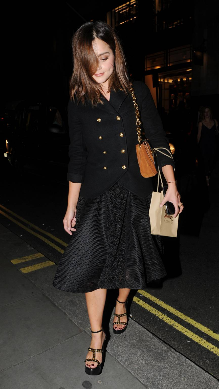 Jenna Louise Coleman – My Burberry Black Launch Event in London