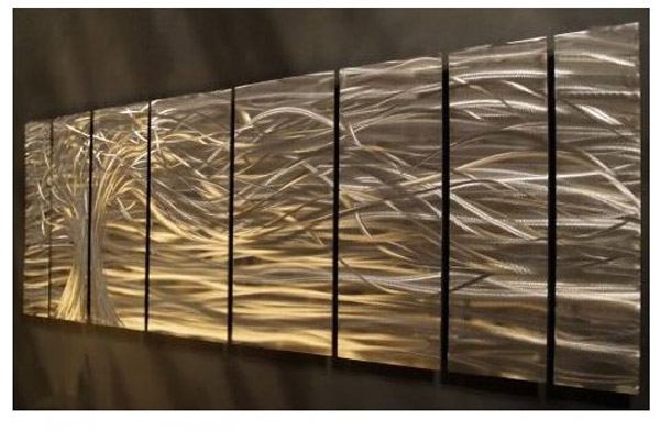 Artwork : Contemporary metal wall art. Wall Sculptures by ...
