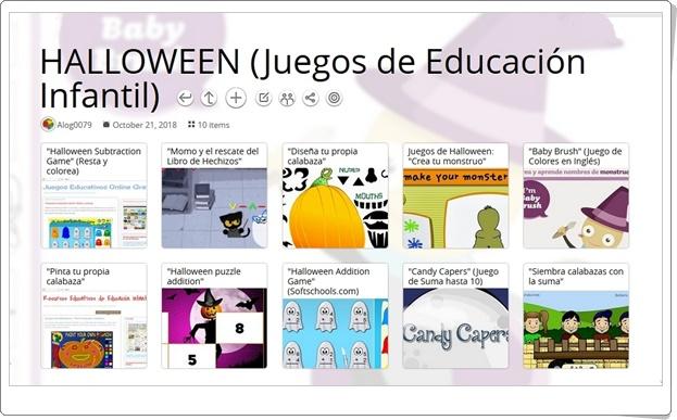 """""""10 Juegos educativos con tema de HALLOWEEN para Educación Infantil"""""""