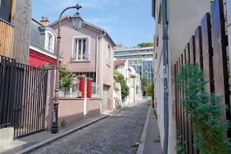 Paris : Passage Nationale, réminiscence contrastée du XIXème siècle dans un quartier réinventé dans les années 1960 - XIIIème
