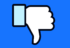 Facebook Downvote Button Testing