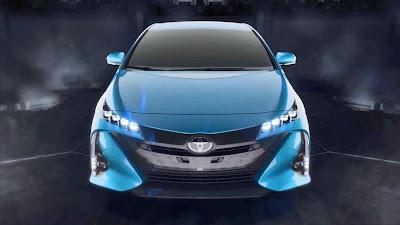2017 Toyota Prius Prime front image