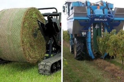 Menakjubkan! 7 Penampakan Mesin Pertanian Modern yang Sangat Canggih