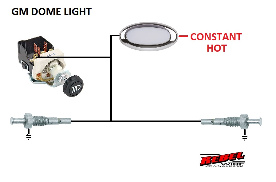 hot rod turn signal switch wiring diagram hotpoint stove rebel wire dome light