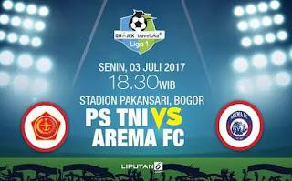 Skor Akhir PS TNI vs Arema 0-0 #Liga1