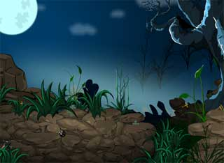 Gloomy Moon Forest Escape Juegos