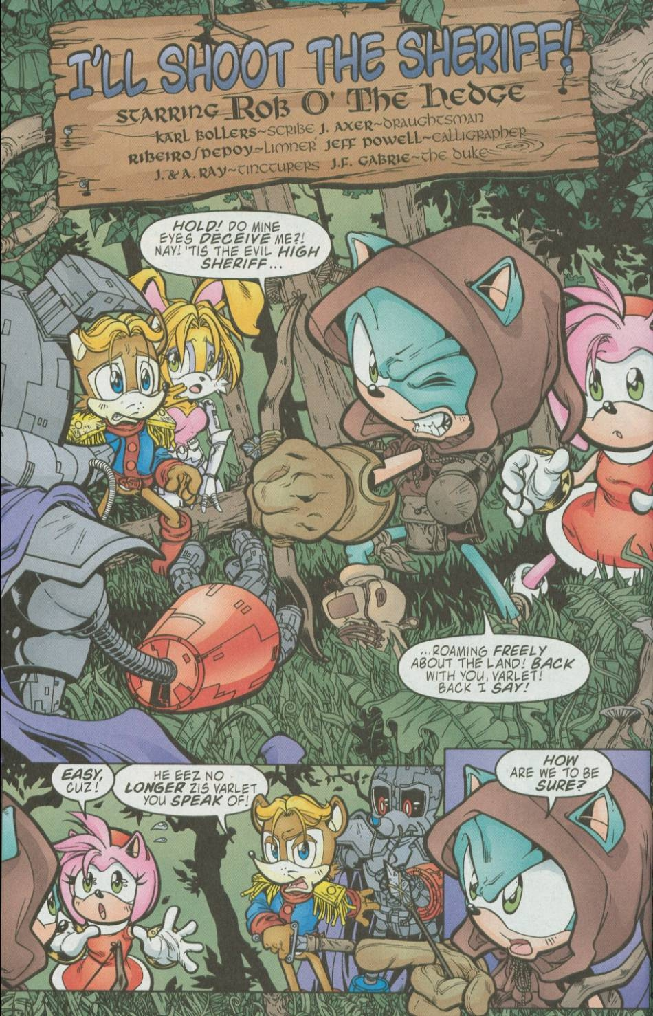 Read online Sonic The Hedgehog comic -  Issue #111 - 14