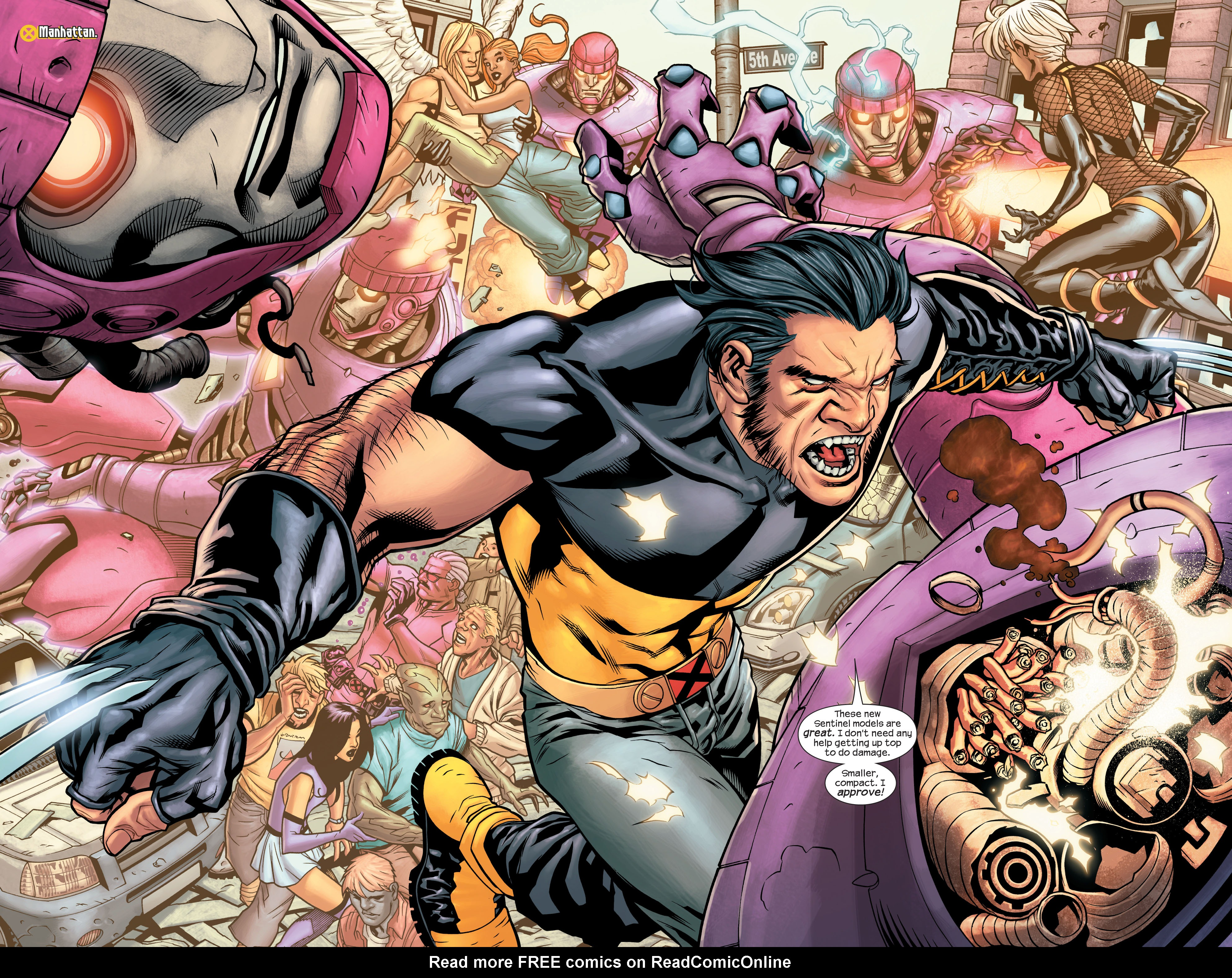 Read online Ultimate X-Men comic -  Issue #85 - 5