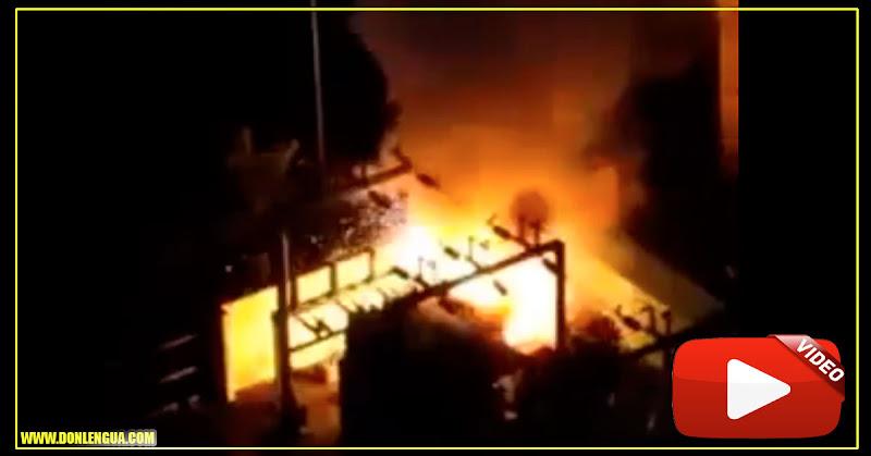 Maracaibo vuelve a quedarse a oscuras tras explotar transformadores este 15 de marzo