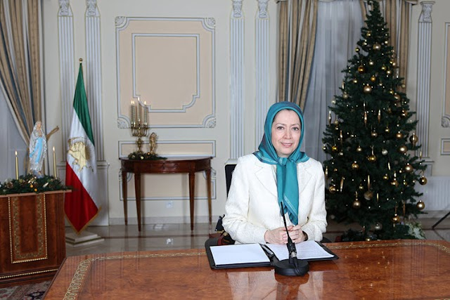 Maryam Rajavi's Christmas and New Year's Greetings
