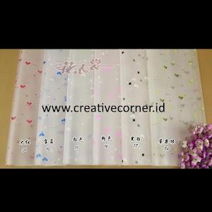 Kertas Buket Bunga / Hand Bouquet Seri WM-060060-Hati