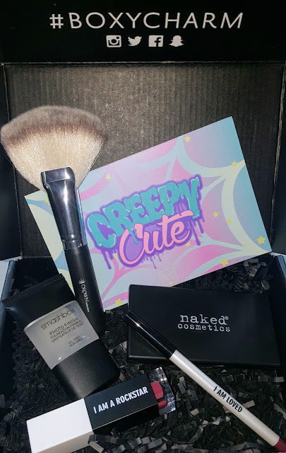 "BoxyCharm March 2017 ""Creepy Cute"""