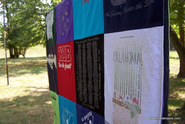 Sending Forth – Quilts from High School to College