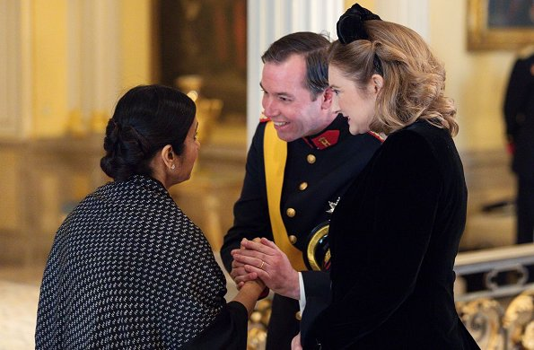 Maria Teresa, Grand Duchess Stephanie, Crown Princess Elisabeth, Queen Mathilde